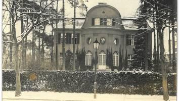 steinmeiers villa: fotos zu jüdischem vorbesitzer entdeckt