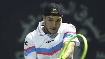 show-wettkampf: struff ersetzt coric bei tennisturnier in kitzbühel
