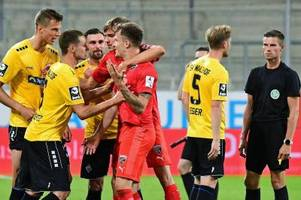 2:0 gegen mannheim: glücksgöttin fortuna outet sich