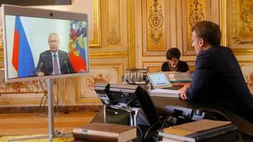 Normandie-Format: Macron und Putin erwägen nach Videokonferenz neuen Ukraine-Gipfel