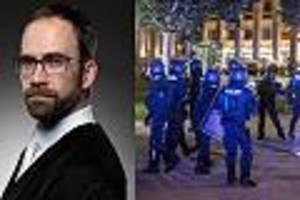 """""""harte antwort des rechtsstaats bleibt aus"""" - richter warnt: viele gewalttäter von stuttgart müssen keine strafen fürchten"""