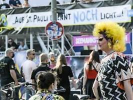 Veranstalter fordern Lockerungen: St. Paulis Clubszene geht auf die Straße
