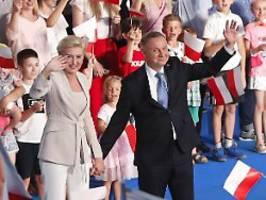 Erfolg für Herausforderer: Polen zwingen Präsident Duda in Stichwahl