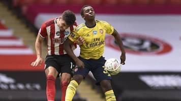 england-fußball - fa cup: arsenal nach sieg bei sheffield united im halbfinale