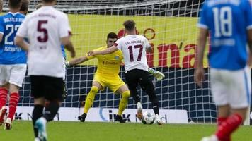 1. FC Nürnberg droht Absturz: 1:1 in Kiel reicht nicht