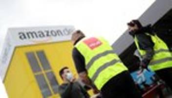 amazon: hunderte beschäftigte streiken für besseren gesundheitsschutz