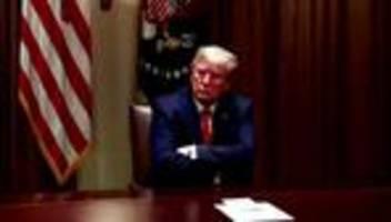 Twitter: Trump teilt Video mit rassistischem Slogan