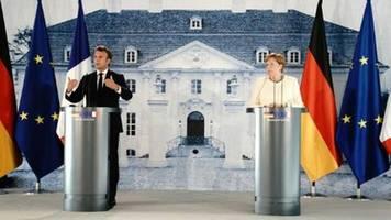 Merkel und Macron hoffen auf rasche Einigung auf EU-Wiederaufbaufonds