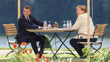 Angela Merkel und Emmanuel Macron meistern die Krise gemeinsam