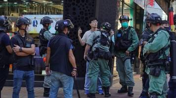 Sanktionen gefordert: Kritik an Chinas Sicherheitsgesetz für Hongkong
