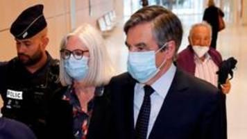 Urteil: Frankreichs Ex-Premier Fillon muss ins Gefängnis