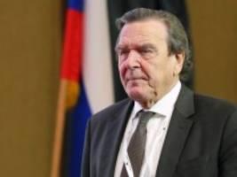 Ostsee-Pipeline Nord Stream 2: Schröder kommt als Experte in den Wirtschaftsausschuss
