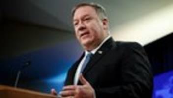 Afghanistan: Mike Pompeo fordert Taliban zu Einhaltung von Verpflichtungen auf