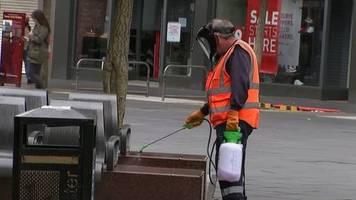 Video: Englische Stadt Leicester wieder im Lockdown