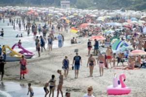 Pandemie: Urlaub an Nord-und Ostsee: Wann ist ein Strand zu voll?