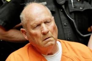 """serienmörder: 13 morde: """"golden state killer"""" bekennt sich schuldig"""