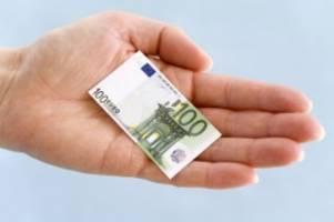 wirtschaft: inflationsrate dürfte schon bald nahe null liegen