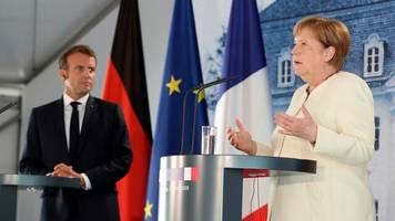 """Treffen in Meseberg: Merkel: """"Wenn Deutschland und Frankreich einig sind, ist nicht Europa sich einig"""""""