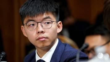 Nach Sicherheitsgesetz: Hongkonger Protestführer Joshua Wong erklärt Rücktritt aus Partei