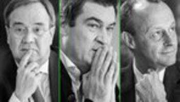 CDU-Kanzlerkandidaten: Wer wäre der beste Kanzler für Schwarz-Grün?