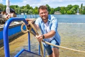 Corona-Krise: Schutz vor dem Ertrinken: Strandbad Weißensee öffnet wieder