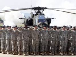 Nato: Trump stimmt Truppenabzug zu