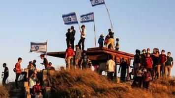 union, spd und fdp positionieren sich klar gegen annexionspläne israels