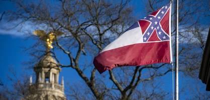 Mississippi schafft umstrittene Flagge endgültig ab