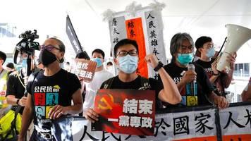 """Millionenmetropole: USA kritisieren """"drakonisches"""" Sicherheitsgesetz für Hongkong"""