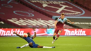 premier league: chelsea london patzt bei west ham – arsenal besiegt norwich