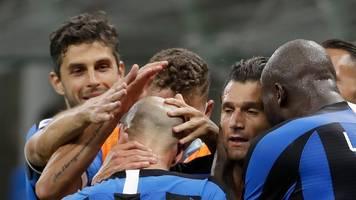 Serie A: Inter Mailand besiegt Schlusslicht Brescia klar