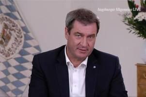 Markus Söder: Angela Merkel gibt mit ihrer Krisenerfahrung wichtigen Rat