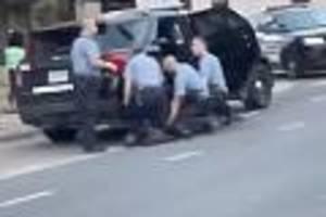 bei polizeieinsatz getötet - bei ermittlungen wegen floyd-tod verschwören sich mittäter jetzt gegenderek chauvin