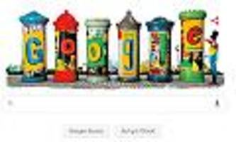 google doodle - litfaßsäule wird 165 jahre alt: wie der berliner ernst litfaß auf die idee kam