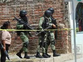 Massaker in Mexiko: 24 Tote bei Angriff auf Therapiezentrum