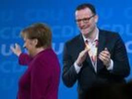 Absprachen zwischen Merkel und Spahn bleiben geheim