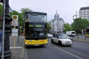 Öpnv: berlin will noch mehr busspuren schaffen