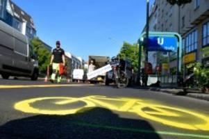 radverkehr: bundestagsgutachten: pop-up-radwege sind rechtens