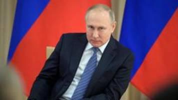 Abstimmung in Russland: Weg frei für Putin