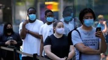 Corona-Pandemie in den USA: Neuer Rekordwert bei Neuinfektionen