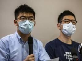 Chinesisches Sicherheitsgesetz: Demokratie-Aktivist verlässt Hongkong