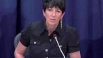 Sexueller Missbrauch: Ghislaine Maxwell vom FBI festgenommen