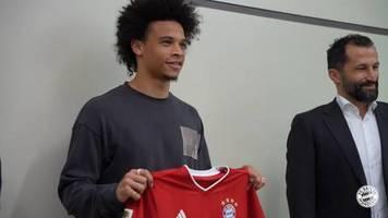 Video: Wechsel perfekt: Leroy Sane geht zu Bayern