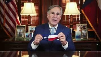 Corona-Neuinfektionen: Gouverneur von Texas verhängt Maskenpflicht – die er monatelang nicht für nötig hielt