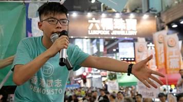 Sicherheitsgesetz: Hongkonger Aktivist Joshua Wong bittet deutsche Regierung um Hilfe
