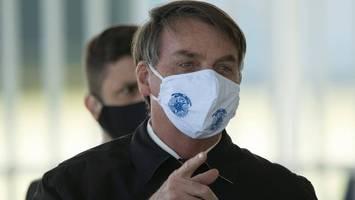 brasilien: präsident bolsonaro legt veto gegen maskenpflicht ein