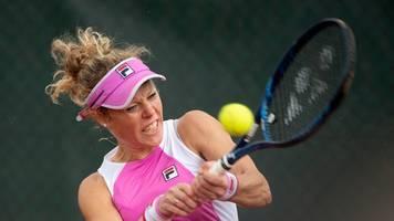 Zwischenrunde in Darmstadt: Siegemund bei deutscher Tennis-Turnierserie im Halbfinale