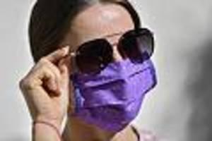 darauf sollten sie achten - sommer, sonne, hitze: was experten raten, um trotz mundschutz die haut zu schützen