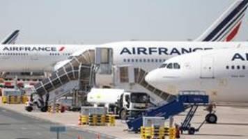 Luftfahrt in der Krise: Air France streicht mehr als 7500 Jobs