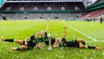 dfb-pokalfinale der frauen: wolfsburg gewinnt sechsten dfb-pokal in folge